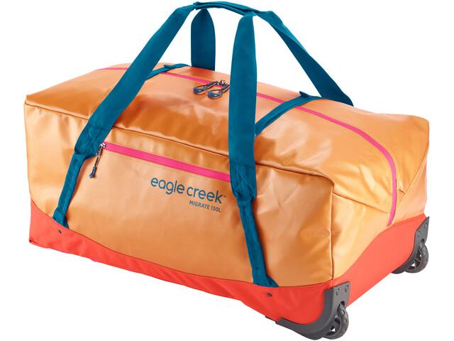 Eagle Creek Migrate Duffel Bag con Ruedas 130l, sahara yellow